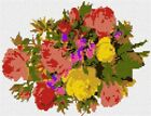 Bright Bunch Needlepoint Kit or Canvas (Floral /Flower /Nature)