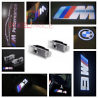 2x BMW CREE LED PROJECTOR CAR DOOR LIGHTS SHADOW PUDDLE COURTESY LASER M LOGO