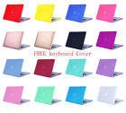 Rubberized Hard Case Shell For MacBook Air/ Pro/ Retina 11/12/13/15