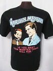 MARILYN MANSON 1996 MEET YOUR MASTER, KILL HIM CONCERT- GILDAN t-shirt 9AMR