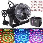 RGB LED Stage Light Lighting Crystal Magic Ball Effect Disco Bar Party Club AU