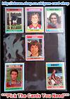 ☆ Topps 1976 Football Blue/Grey Cards 55 to 108 (F) *Please Select Cards*