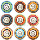 Ceramic Dresser Cabinet Cupboard Door Knobs Pulls Shabby Chic Decorative Colorfu