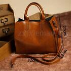 Women Leather Handbag Purse Messenger Lady Shoulder Crossbody Bag Tote Satchel