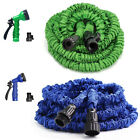 Deluxe 25/50/75/100 ft Expandable Flexible Garden Water Hose Pipe w/Spray Nozzle
