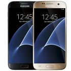 Cell Phones - Samsung Galaxy S7 32GB (Verizon / Straight Talk / Unlocked ATT GSM) Black Gold