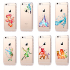 Cartoon Royal Castle Tinker Bell Princess Hardshell Rugged Cover Case For iPhone