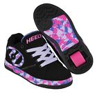 Heelys Propel 2.0 - Black / Lilac / Pink /  Roller Skating Shoes + Free DVD