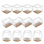 16x/32x Chair Leg Silicone Caps Pad Furniture Table Feet Cover Floor Protector