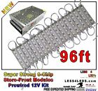 6 Chip 96ft Brightest Store Front Led Window Light Cool White Timer or Remote