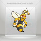 Decals Stickers Bee Hornet Wasp Guardian Atv Bike Garage bike st5 XR354