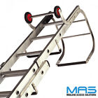 Aluminium Trade Double Section Roof Ladders Trade Roof Ladders Free Next Day Del