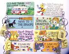 Keyring Caravan Cat Dog 23 Designs Smiley Signs Mother's Day Gifts