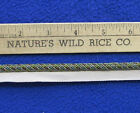 """Woven Cord Trim Chocolate Brown Green Blue Taupe 40"""" Long Sewing Crafts Snake"""