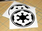 Star Wars Empire Sticker | SET OF TWO | Empire Decal $2.0 USD