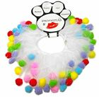 New dog cat PARTY COLLAR SMOOCHERS MIRAGE Scrunchie Birthday SM-XL Wedding