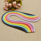 Multicolor Mixed Quilling Origami Paper DIY Tool Hanmade Crafts 0.3/0.5/0.7/1cm