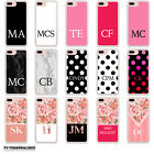 INITIALS PERSONALISED HARD BACK PHONE CASE COVER FOR APPLE IPHONE 7 &amp; 7 PLUS <br/> Your initials or name &bull; Located in UK &bull; Christmas Gift