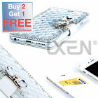 Luxury Bling Bowknot Crystal Diamond Wallet Flip Case Cover For iPhone 6
