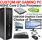 HP GAMING PC 6GHZ DESKTOP 1TB 8GB COMPUTER TOWER WINDOWS 10 NEW GFX HDMI
