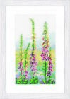 NEW | Vervaco PN-0146870 | Foxgloves At Dawn Picture Counted Cross Stitch Kit