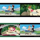 JAPAN MY NEIGHBOR TOTORO KIKI'S CASTLE IN THE SKY 3D PAPER MOTION PUZZLE & FRAME