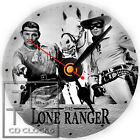 S-840 CD CLOCK-THE LONE RANGER AND TONTO-WALL OR DESK CLOCK