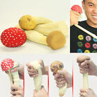 Replica Vent Toy Mushroom Prank Trick Anti Stress Reliever Flexible Squeeze ADHD