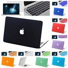 "3in1 Rubberized Hard Case Cover For New Macbook Pro Air 11"" 12"" 13"" 15 Touch Bar"