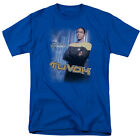 Star Trek Voyager TUVOK Licensed Adult T-Shirt All Sizes on eBay