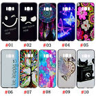 Fashion Pattern Print Soft TPU Rubber Case Cover For Galaxy S8 J7/J3/A5/A3 2017