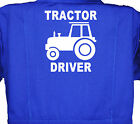 Tractor Driver, Baby, Childrens, Kids, Coverall, Boilersuit, Overall 1-8yrs