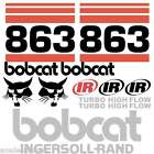 ANY MODEL Bobcat 863 DECALS Stickers Skid Steer loader New Repro decal Kit