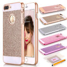 Ultra-Thin Shockproof Glitter Bling Crystal Hard Case Cover F iPhone X 8 7 Plus
