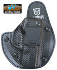 S&W Shield 45 ACP Hybrid Holster -Most Comfortable ANTIMICROBIAL PADDING Carbon