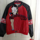 New Betty Boop JH Designs Group Faux Leather Jacket $95.0 USD