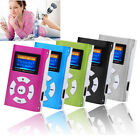 Mini Portable Metal MP3 Player LCD Screen USB Support 32GB Micro SD TF Card
