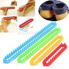 4 Size ABS Plastic Loom Hook For Shawl Scarf Hat Socks Long Knitter Knitting US