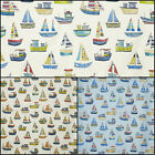 Prestigious Boat Club Beachcomber Designer Curtain Fabric