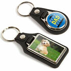 Personalised Medallion Metal Keyrings - Upload Any Photo - Choice of Sizes