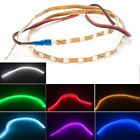 10X 45cm 12V DRL Car Styling Flexible LED Strip Light Waterproof Atmosphere lamp