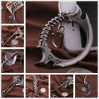 World of Warcraft Weapon Model Metal Keychain Key Ring Pendant Cosplay Props New