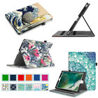 For New iPad 9.7 Inch 2017 / Air / Air 2 Case Multiple Angles Folio Stand Cover