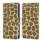 HEAD CASE FLORAL CAMO PRINT LEATHER BOOK CASE FOR SONY XPERIA X PERFORMANCE