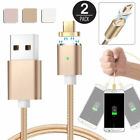 EEEKit 2 Pack 2.4A Magnetic Micro USB Charging Cable Charger Adapter for Android