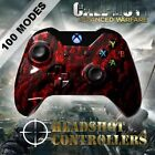 Xbox One/S/X Red Zombie Arbiter 4 Rapid Fire 4 Carbon Paddle Controller COD WW2