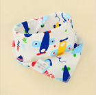 Newborn Baby Boy Girls kids Bibs Waterproof Saliva Towel Feeding Bandana