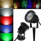 3W 7W 9W 12V/220V COB LED Outdoor Landscape Spotlight Floodlight Garden Lamp NEW