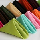 Внешний вид - 100/PK 17x17 inch Polyester Napkins  ~NEW~ Wedding Holiday Party 15+ Colors
