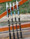 Portable Carbon Telescopic Fishing Rod Pole Sea Saltwater Freshwater Fishing Kit